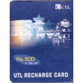 UTL Recharge Rs.500