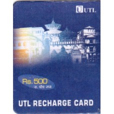 UTL Recharge Pin Rs.500